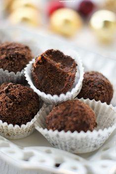 Trufle piernikowe (z pierniczków) Trufle, Muffin, Breakfast, Christmas, Autumn, Dreams, Recipe, Fit, Recipes