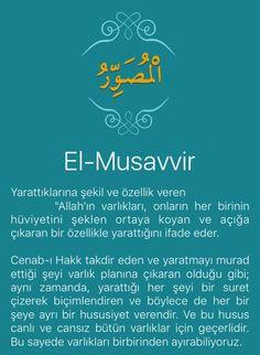 Beautiful Names Of Allah, Pray, Islam, Names Of God