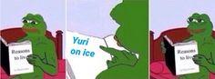 Recueille d'images drôles, vidéos, gifs etc.. sur Yuri On Ice ! Je te… #aléatoire Aléatoire #amreading #books #wattpad