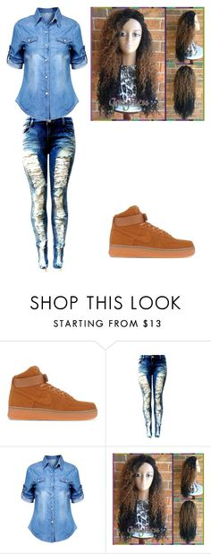 """""""IDK🤗"""" by lexiswagg on Polyvore featuring NIKE"""