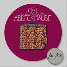 Overlock Abdeckhaube / Cover - (Fre)eBook Ovi-Abdeckung