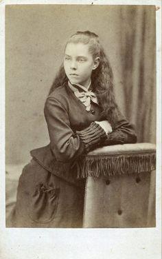 CDV Portrait of a girl - U.K. - c.1875
