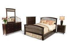 Tribeca 10 Piece Queen Bedroom Set | Tribeca | Bedroom Collections | Bedroom | Bob's Discount Furniture
