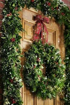"""...But the prettiest sight you'll see is the holly that will be on your own front door..."""