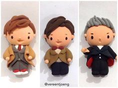 Doctor Who 10, 11 & 12