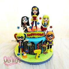 I think I will never take order for this theme again 😂😂😂 7th Birthday Cakes, Frozen Birthday, Girl Birthday, Dc Superhero Girls Cake, Superhero Birthday Party, Supergirl Cakes, Orange Birthday Parties, Ladybug Party, Dc Super Hero Girls