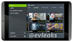 Nueva filtración de la tableta NVIDIA Shield Tablet