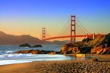 Baker Beach on the San Francisco peninsula