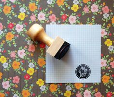 This is the best rubber stamp