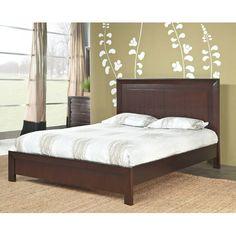World Menagerie Fierro Panel Bed