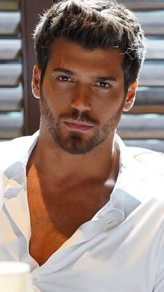 Turkish Men, Turkish Actors, Nice Outfits For Men, Older Mens Hairstyles, My Handsome Man, Gents Fashion, Face Men, Cute Couple Pictures, Hair And Beard Styles