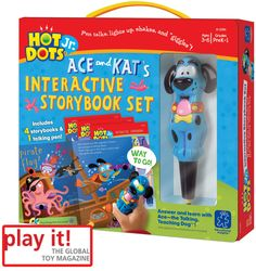 """Media Coverage from play it! Global magazine. """"I very much like how established toys are being upgraded with the digital elements"""" *Click to Download*"""