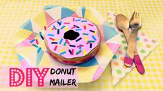 The easiest and guilt-free way to send a donut in the mail. Make it out of some basic craft supplies and 'The Laughing Cow' cheese container. Emoji Craft, Cheese Packaging, Cow Cheese, Diy Donuts, Guilt Free, Doughnut, Easy Crafts, Craft Supplies, Birthday Cake