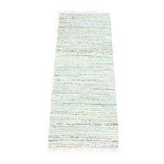 Cotton matta, grönmix i gruppen Mattor / Mattor hos RUM21.se (116438r)