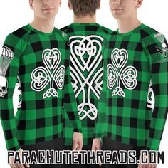 Wear it all years long Irish Shamrock clover gift shirt best clothing Designer Wear, Mother Earth, St Patricks Day, Cool Shirts, Shirt Outfit, Cool Outfits, Short Sleeves, Men Casual, Creatures