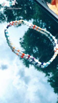 Seed Bead Jewelry, Bead Jewellery, Cute Jewelry, Beaded Jewelry, Beaded Bracelets, Handmade Wire Jewelry, Diy Crafts Jewelry, Bracelet Crafts, Diy Friendship Bracelets Patterns