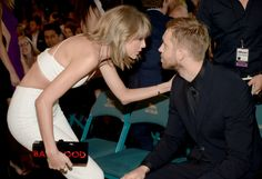 Here Are A Bunch Of Pics Of Taylor Swift and Calvin Harris Being The Cutest Couple Ever At The Billboard Music Awards