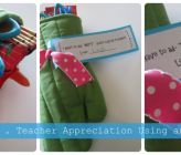 Oven Mitt DIY idea {Teacher Appreciation}