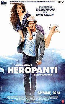 Heropanti (2014) Hindi Movie Poster & Trailer starring Tiger Shroff