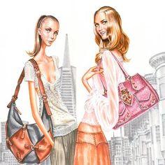 arturo elena - fashion illustration