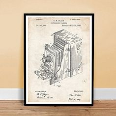 Photographic Camera Invention 1887 Us Patent Art Vintage Poster Print Blair Gift Unframed Retro Poster, Vintage Posters, Art Posters, Poster Prints, Poster Store, Sale Poster, Us Patent, Inventions, Poster Vintage