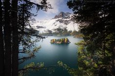 Sils Lake by Jonathan Duriaux on 500px