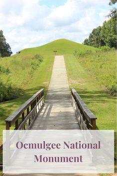 Ocmulgee National Monument - Extra Black Olives National Park Passport, Us National Parks, Federal Parks, Hiking With Kids, Park Trails, Park Service, United States Travel, Historical Sites, Olives