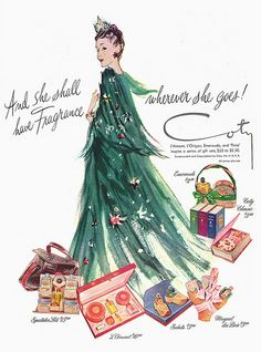 Coty Ad Christmas: She Shall Have Fragrance