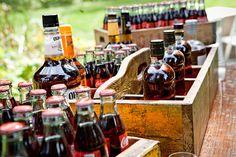 #bourbon-bar Photography: Lauren Brooks - laurenbphoto.com Read More: http://www.stylemepretty.com/northwest-weddings/2012/05/25/casual-bridal-veil-lake-wedding-from-lauren-brooks/