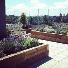 Hampshire, Terrace, How To Plan, Landscape, Plants, Projects, Instagram, Balcony, Log Projects