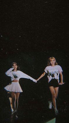 Jennie and Lisa