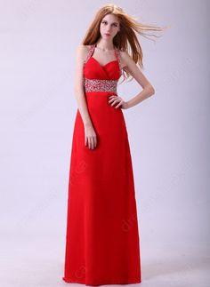 # Red Prom Dress