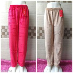 Pyjamas and Lounge Pants  Trendy Women Fancy Lower Fabric: Velvet Pattern: Solid Multipack: 2 Sizes:  32 (Waist Size: 32 in Length Size: 39 in Hip Size: 34 in)  34 (Waist Size: 34 in Length Size: 39 in Hip Size: 36in)  36 (Waist Size: 36 in Length Size: 39 in Hip Size: 38 in)  38 (Waist Size: 38 in Length Size: 39 in Hip Size: 40 in)  40 (Waist Size: 40 in Length Size: 39 in Hip Size: 42 in) Country of Origin: India Sizes Available: 28, 30, 32, 34, 36, 38, 40, 42   Catalog Rating: ★4 (849)  Catalog Name: Ravishing Fashionista Women Palazzos CatalogID_1625983 C76-SC1054 Code: 074-9309454-0021