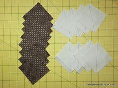 Neighborhood Quilt Club: Starting Point - Quilt Block Tutorial Pinwheel Quilt Pattern, Quilt Patterns, Block Of The Month, Pinwheels, Quilt Blocks, The Neighbourhood, Club, Quilts, The Neighborhood