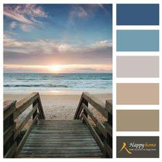 Nederlandse glorie, op het strand vind je DE kleuren om te combineren met zand kleuren.