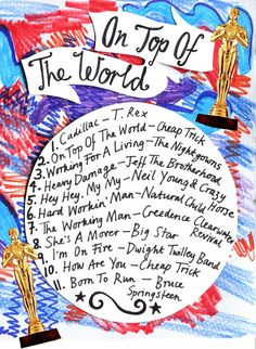 Friday Playlist: On Top of the World