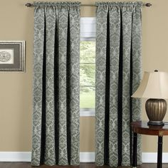Achim Home Furnishings Sutton Blackout Panel, 52-Inch by 63-Inch, Sage -- Want additional info? Click on the image. (This is an affiliate link) #WindowTreatments