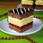 Romanian Desserts, Romanian Food, Albanian Recipes, Cake Recipes, Dessert Recipes, Square Cakes, Polish Recipes, Food Cakes, Vanilla Cake