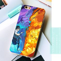 Sasuke Naruto Phone Cases for iphone 7 7Plus Case for iPhone 5S 5 SE 6 6S Plus 4S Cover. - and FREE Shipping