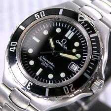 1993 Omega Seamaster Professional 200 M Quartz Pre Bond Date Men's Diver Watch