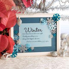 Snowflake Message Frame