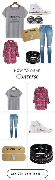"""Untitled #83"" by madzfashion on Polyvore featuring Rebecca Minkoff, Converse and Replay"