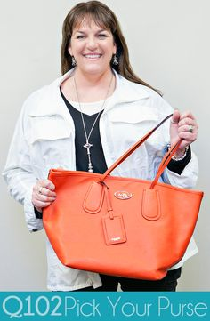 Coach - Large Taxi Tote. Go to wkrq.com to find out how to play Q102's Pick Your Purse!