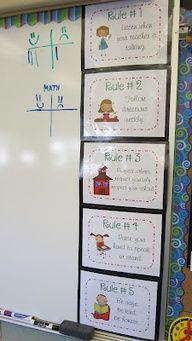 Whole brain teaching...class rules