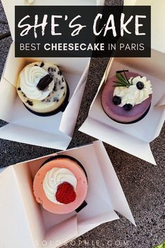 Looking for one of the best sweets in Paris? here's why you need to check out she's cake (some of the best cheesecake in Paris) the next time you're in the French capital of France.