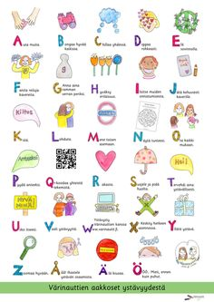 Julisteet - Värinautit Finnish Words, Finnish Language, Classroom Behavior, Classroom Ideas, Therapy Tools, Natural Garden, Childhood Education, Speech And Language, Drawing For Kids