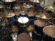 Babymetal - Kami Band Hideki Aoyama the God Of Drums shared his drum kit for JAM Project! Looks amazing! #StayMetal!