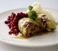 Kaalikääryleet - kåldolma - stuffed cabbabe roll