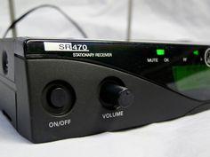 AKG SR470 – volume knob out