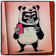 MOLESKINE SKETCHES 2 by Norio Fujikawa, via Behance